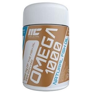 Витамины омега 3 Muscle Care Omega 1000 (120 капсул.)
