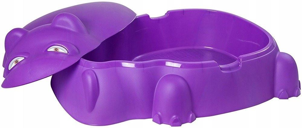 Песочница - бассейн пластиковая Гиппопотам. Два цвета.