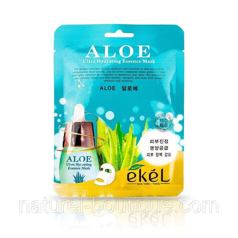 Тканевая маска Ekel ALOE с экстрактом алоэ
