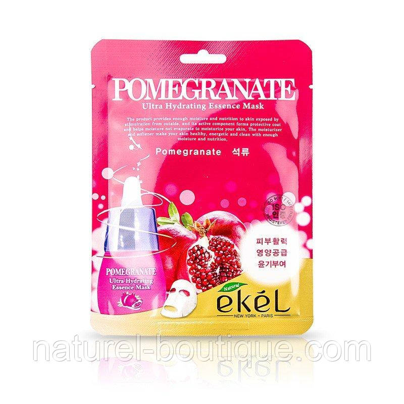 Тканевая маска Ekel Pomegranate с экстрактом граната