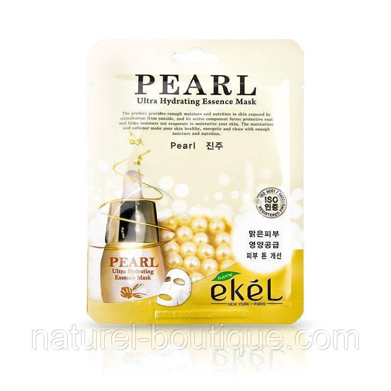 Тканевая маска Ekel PEARL с экстрактом жемчужин