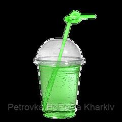 """Пластикові стакани під купольну кришку """"П"""" 300мл 50шт (без кришки)"""
