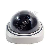 """Муляж камеры видеонаблюдения """"Белый купол"""", фото 1"""