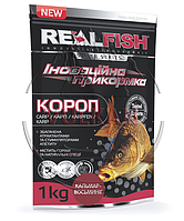 "Прикормка Real Fish ""Карп"" Кальмар-осьминог, фото 1"
