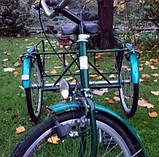 Трехколесный Велосипед EuroTeam Special Reha Bike для людей с отсутствием равновесия, фото 5
