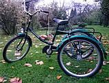 Трехколесный Велосипед EuroTeam Special Reha Bike для людей с отсутствием равновесия, фото 2
