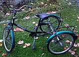 Трехколесный Велосипед EuroTeam Special Reha Bike для людей с отсутствием равновесия, фото 3