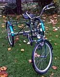 Трехколесный Велосипед EuroTeam Special Reha Bike для людей с отсутствием равновесия, фото 4