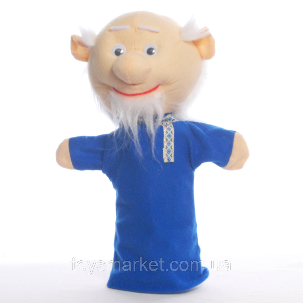 Игрушка рукавичка для кукольного театра Дед, кукла перчатка на руку