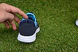 Кроссовки детские Callion adidas синие сетка р26-30, фото 4