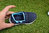 Кроссовки детские Callion adidas синие сетка р26-30, фото 5