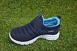 Кроссовки детские Callion adidas синие сетка р26-30, фото 6