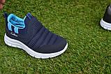 Кроссовки детские Callion adidas синие сетка р26-30, фото 8