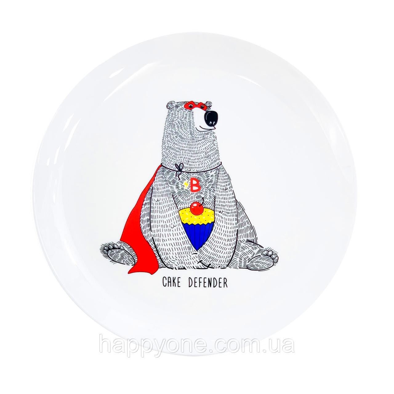 Тарелка «Медведь»