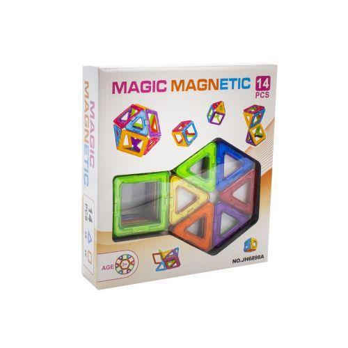 """Магнитный конструктор крупный для детей """"Magic Magnetic"""" на 14 деталей"""