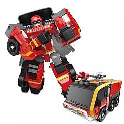 Тобот Вулкан Пожарка-трансформер мини Tobot Пожарный