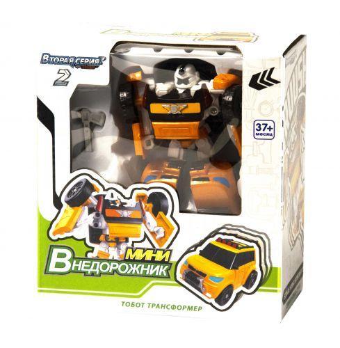 Тобот Х Машина-трансформер мини (желтый) Tobot