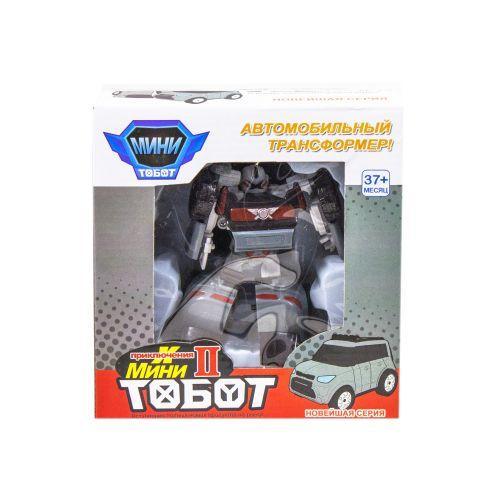 """Трансформер """"Tobot X"""", мини (серый)"""