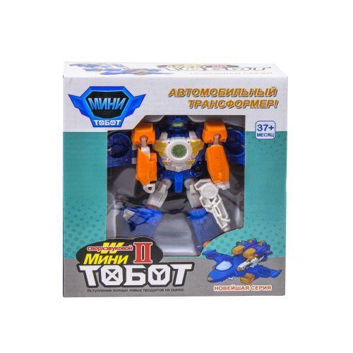 """Трансформер """"Tobot W"""", мини (бело-оранжевый)"""