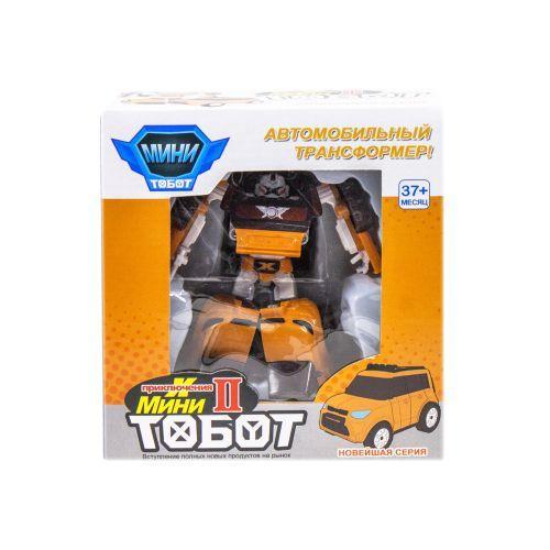 """Трансформер """"Tobot X"""", мини (оранжевый)"""