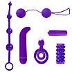 НАБОР 6 предметов (цепочка анальная, вибропуля, минивибратор, насадка, шарики, кольцо эрекционное), фото 10