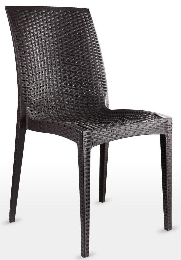 Уличный пластиковый стул