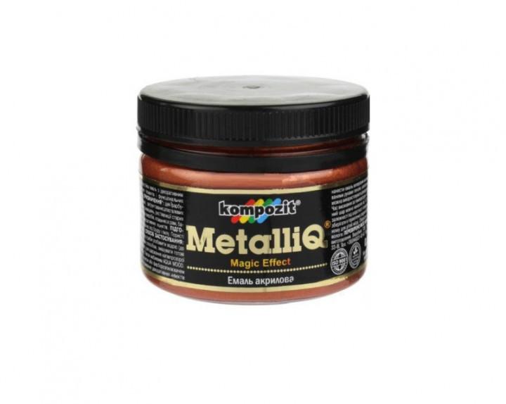 Декоративная акриловая эмаль Kompozit Metalliq 0.1кг (Медь)