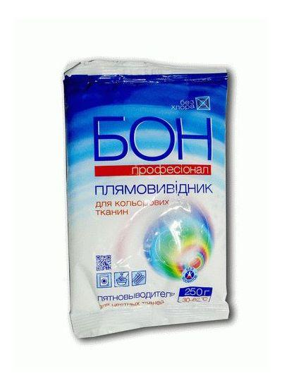 Пятновыводитель  для цветных тканей, БОН Профессионал, Эленси, 250 г