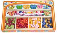 Набор бусинок для браслетов, Viga Toys 58550, фото 1