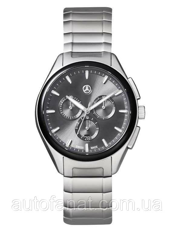 b9de3614683f Мужские наручные часы хронограф Mercedes-Benz Men's Chronograph Watch,  Business, black / silver (B66953530): ...