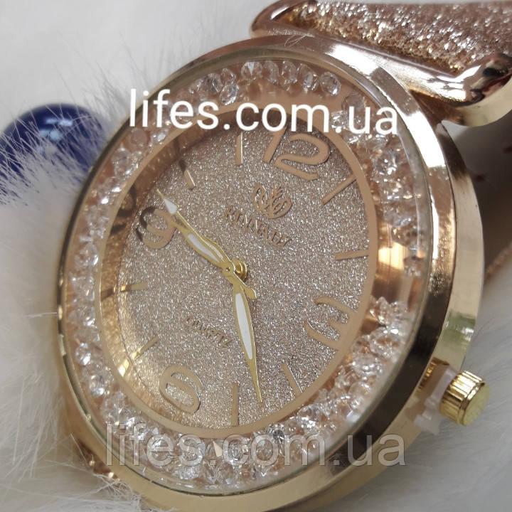 Женские часы Бренд:Aimecor бежевые.