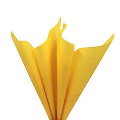 Бумага тишью солнечная 50 х 70 см