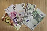 Наклейка - купюра 500 гривен, фото 3