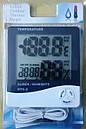 Цифровой термо-гигрометр HTC-2 (0-50 С; 10%…99%) с выносным датчиком (термопарой -50...+70°C), фото 6