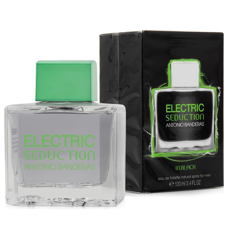 Мужская парфюмированная вода Antonio Banderas Electric Seduction In Black  - 100 мл