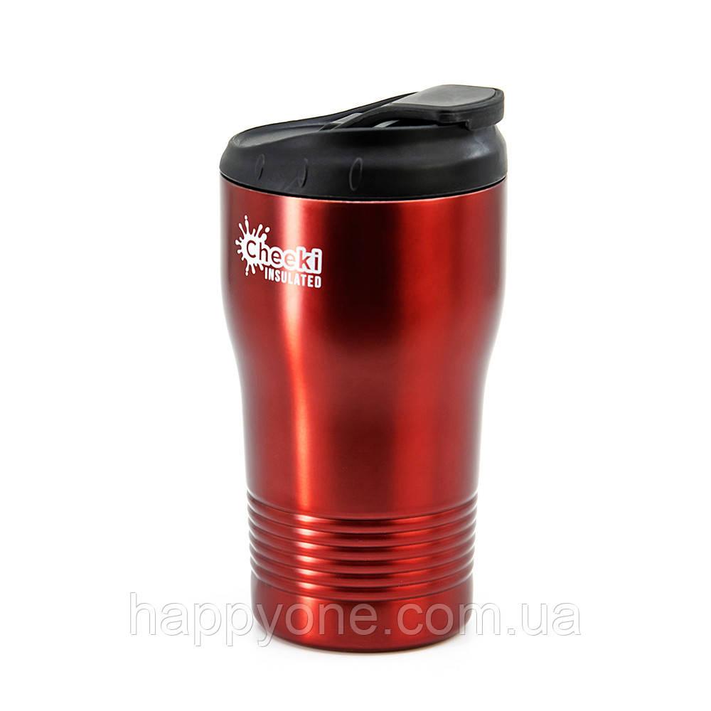 Термокружка Cheeki Coffee Cup Cherry Red (310 мл)