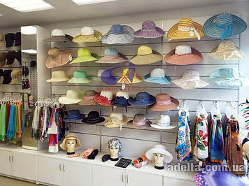 Экспопанели, экономпанели, торговое оборудование для магазинов шарфов
