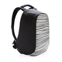 "Рюкзак протикрадій XD Design Bobby Compact Print 14"" Zebra"