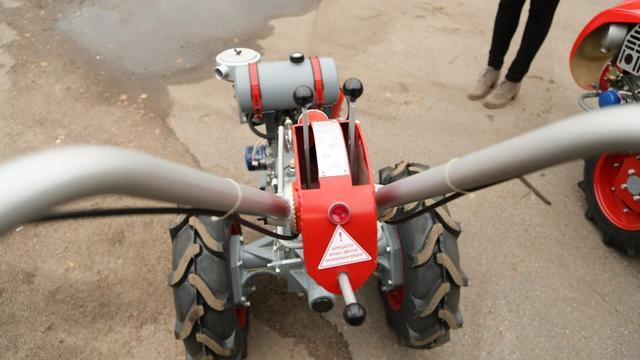 Управление мотоблоком Мотор Сич МБ-6д