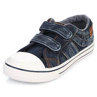 🎨 Кеды джинсовые на липучках
