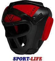 Боксерский шлем тренировочный RDX Guard, размеры S,L
