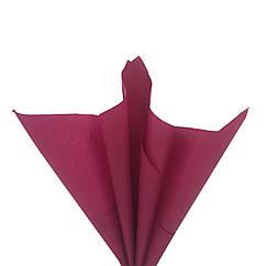 Бумага для помпонов бордовая 50 х 70 см