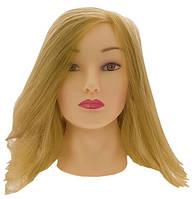 Голова учебная  35-45см Блонд без штатива