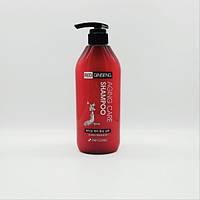Восстанавливающий шампунь с экстрактом корня женьшеня 3W Clinic Aging Care Red Ginseng Shampoo, 500 мл