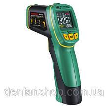 Пирометр Mastech MS6531C (IR: -40 ... +800 °C; ТК: -40 ... 1080 °C)  D:S: 12:1; EMS: 0.10-1.00 с термопарой