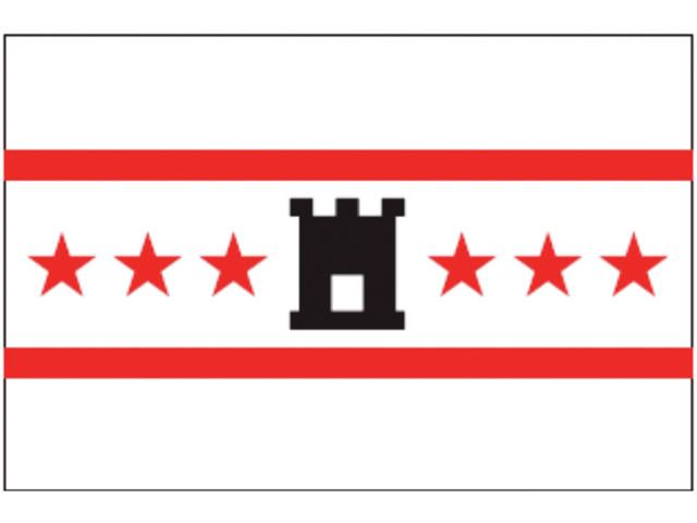 Флаг провинции Дренте
