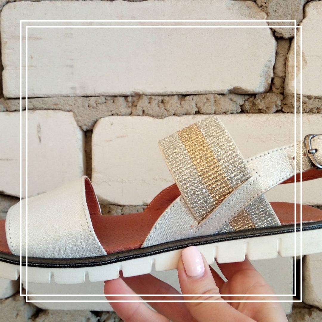 aa1d951c9 Босоножки на плоской подошве (белый сатин) - Женская обувь от  производителей в Харькове