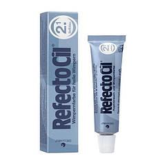 Фарба для вій та брів RefectoCil темно-синя 15мл