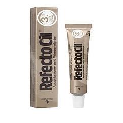 Фарба для вій та брів RefectoCil світло-коричнева 15 мл