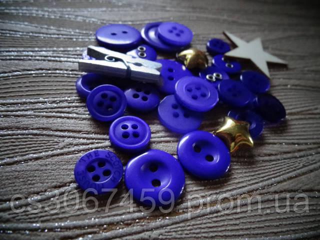 """Набор пуговиц и декора """"Фиолетовый микс"""""""